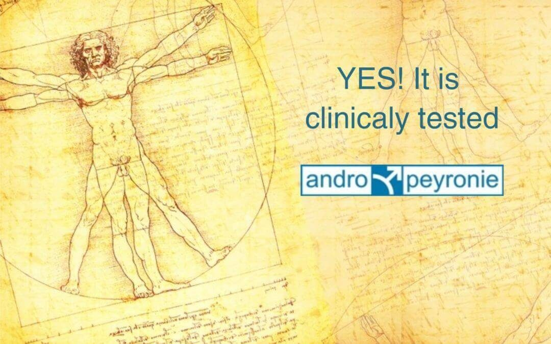 Andromedical clinical testing peyronie's disease